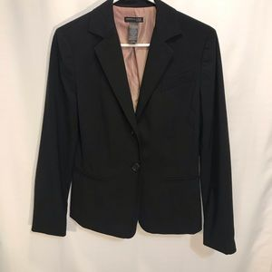 🐘 Kenneth Cole Black Fitted Lined Career Blazer